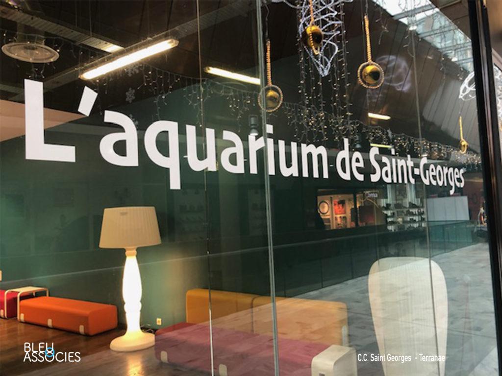 L'aquarium de Saint Georges