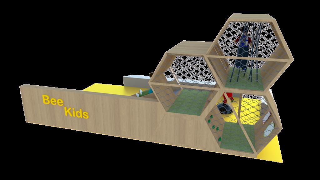 Concept espace enfants Bee Kids vue 2