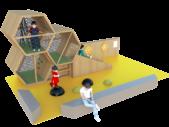 Concept espace enfants Bee Kids vue 3