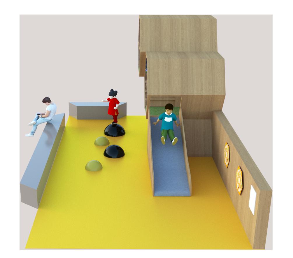 Concept espace enfants Bee Kids vue 4