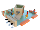 Concept Espace enfants sur mesure Cabane Jungle vue 3