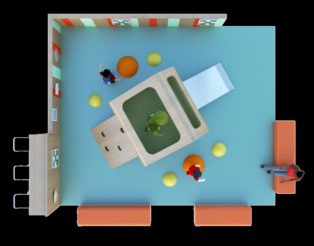 Concept Espace enfants sur mesure Cabane Jungle vue 4